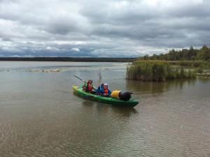 байдарки для озера